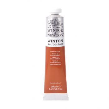 สีน้ำมัน Winsor & Newton Winton 200 มล. เบอร์ 074 Burnt Sienna