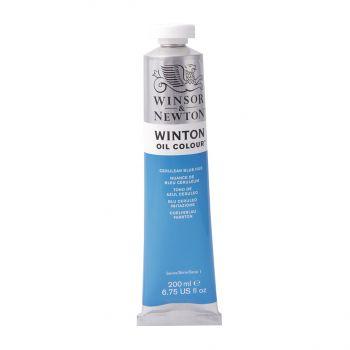 สีน้ำมัน Winsor & Newton Winton 200 มล. เบอร์ 138 Cerulean Blue Hue