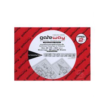 กระดาษไข Gateway หนา 90 แกรม