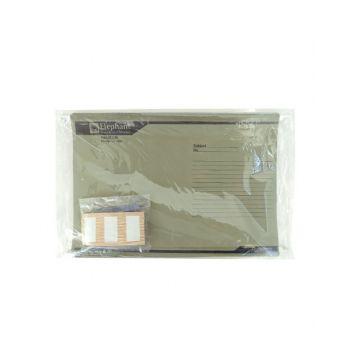 แฟ้มแขวน ตราช้าง รุ่น 926 สีเทา (แพ็ค10)