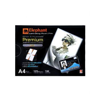 ฟิล์มเคลือบบัตร ตราช้าง Premium A4 125 ไมครอน
