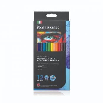 สีไม้ระบายน้ำ 12 สี Renaissance