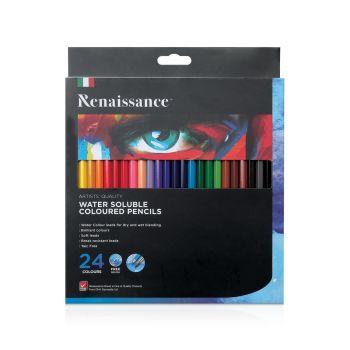 สีไม้ระบายน้ำ 24 สี Renaissance