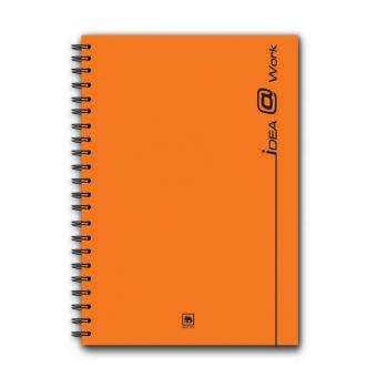 สมุดบันทึกริมลวด ตราช้าง WP-103 ขนาด A5 (คละสี)