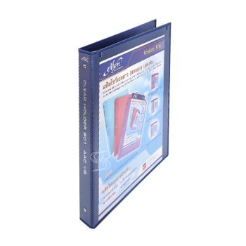 แฟ้มโชว์เอกสาร 3 ห่วง วิวบายเดอร์ เอลเฟ่น รุ่น 801 สีน้ำเงิน (10ไส้)