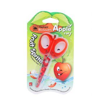 """(Clearance) กรรไกร แอปเปิ้ล แฟนซี ขนาด 5"""" ตราช้าง (SD165406)"""