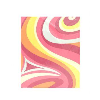 แฟ้ม 2 ห่วง ตราช้าง ปกกระดาษพิมพ์ลาย รุ่น 229A4 ขนาด A4 (คละสี)