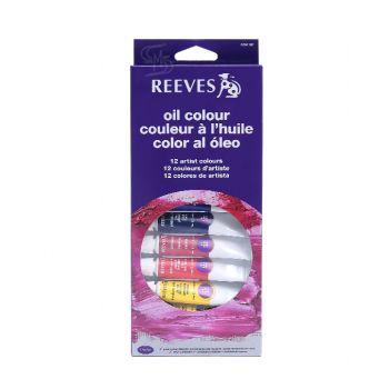 สีน้ำมัน Reeves ชุด 12 สี 10 มล. #8594300