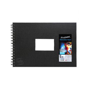 (Clearance) สมุดวาดเขียน ขนาด A4 300แกรม (25 แผ่น) รุ่น RH 101 Renaissance & Fabriano (SD199098)