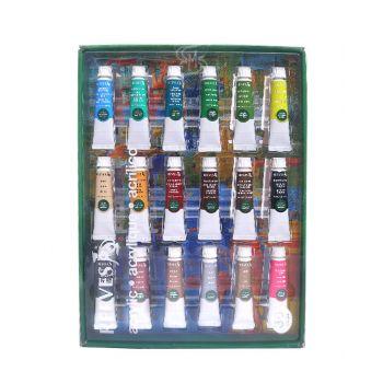 (Clearance) สีอะคริลิค Reeves ชุด 36 สี รุ่น 4910215 แพ็คกล่อง (SD211790)