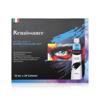 สีน้ำ Renaissance ชุด 24 สี 12 มล.