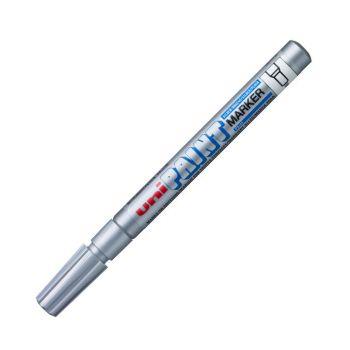 ปากกาเพ้นท์ มาร์คเกอร์ UNI PX-21 สีเงิน