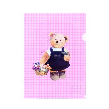 ซองพลาสติก Master Art & Teddy ขนาด A4