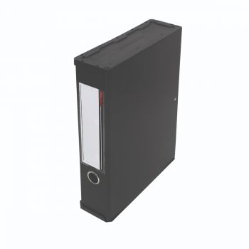 แฟ้มกล่องเก็บเอกสาร ตราช้าง UBOC 01 ดำ