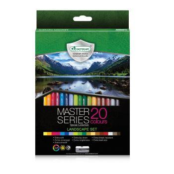 สีไม้ 20 สี Master Art Master Series รุ่น Landscape