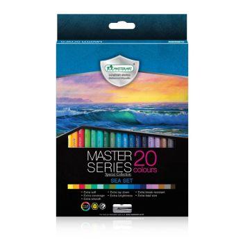 สีไม้ 20 สี Master Art Master Series รุ่น Sea