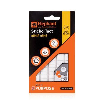 กาวดินน้ำมัน ตราช้าง รุ่น Sticko Tact 50 กรัม