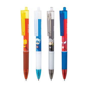 ปากกาหมึกเจลกริป Quantum ลาย MARVEL (คละลาย)