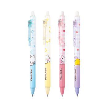 ปากกาหมึกเจลลบได้ Quantum ลาย มิมิเนโกะ รุ่น QGE591 (คละสี)