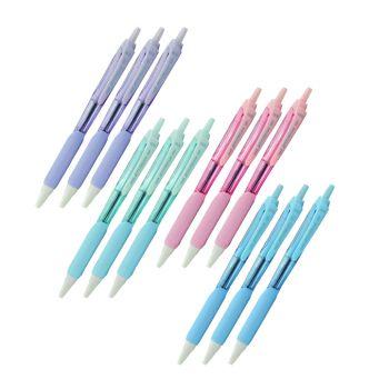 Set : UNI Set ปากกา ยูนิ เจ็ทสตรีม SXN-101FL-05 หมึกน้ำเงิน จำนวน 12 แท่ง