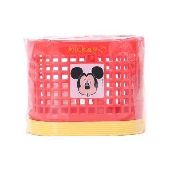 ตะกร้าแบ่งช่อง ลาย Mickey mouse - 009 (คละสี)