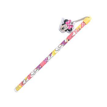 ดินสอ มีตัวห้อย PVC minnie - 001