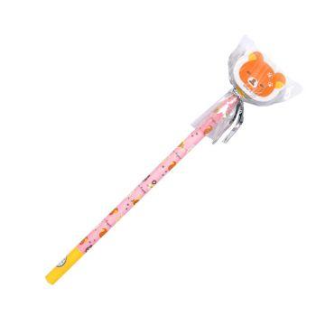 ดินสอไม้หัวยางลบไดคัท rilakkuma - 004