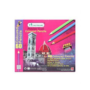 สีไม้ Master Art แท่งยาว 60 สี
