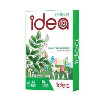กระดาษถ่ายเอกสาร A4 80 แกรม IDEA Green