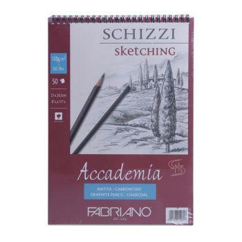 กระดาษวาดภาพ Fabriano Accademia 120แกรม 50แผ่น