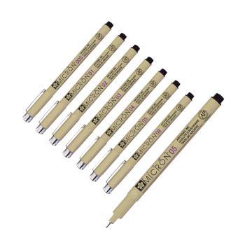 ปากกาหัวเข็มตัดเส้น Pigma Micron