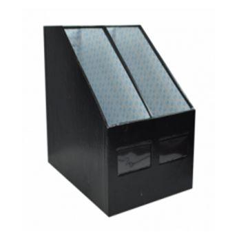 กล่องใส่เอกสาร ตราไทไท 2 ช่อง สีดำ