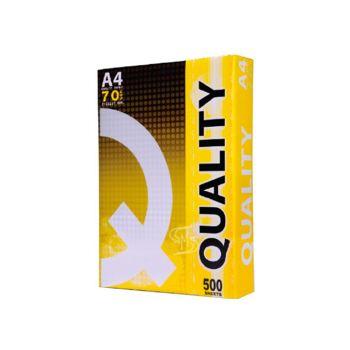 กระดาษถ่ายเอกสาร A4 70 แกรม Quality