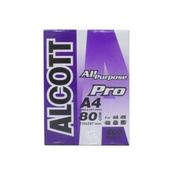 กระดาษถ่ายเอกสาร A4 80 แกรม Alcott
