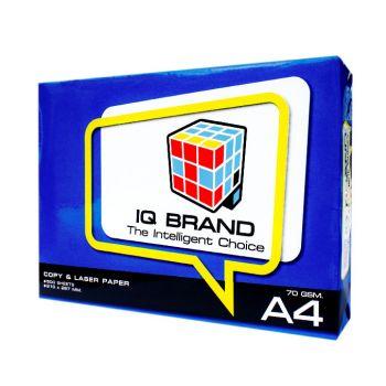 กระดาษถ่ายเอกสาร A4 70 แกรม IQ Brand