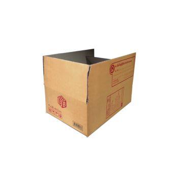 กล่องไปรษณีย์ฝาชนเบอร์ B 17x25x9cm