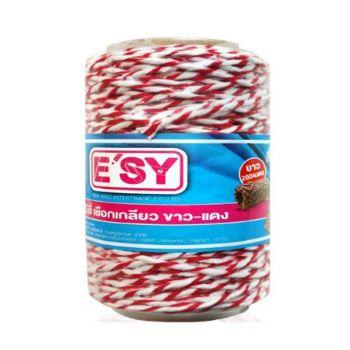 เชือกเกลียวขาวแดง Easy ยาว 200 เมตร