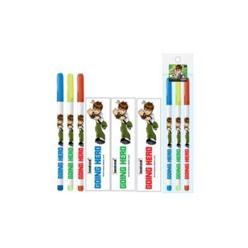 ดินสอต่อไส้ Benten - 128 (3แท่ง)