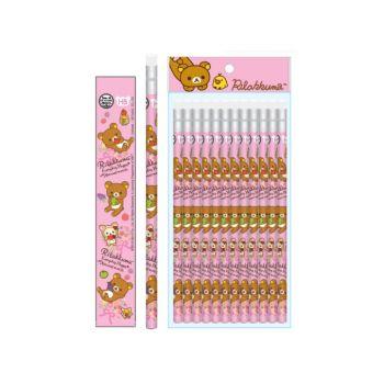 ดินสอไม้ Rilakkuma - 446 (12แท่ง)
