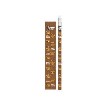 ดินสอ 2B หัวยางลบดินสอ Rilakkuma - 457 สีน้ำตาล