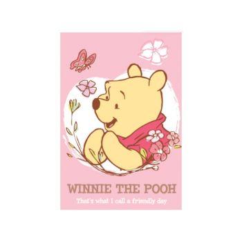 สมุดบันทึกปกอ่อนเย็บลวด Pooh - 458