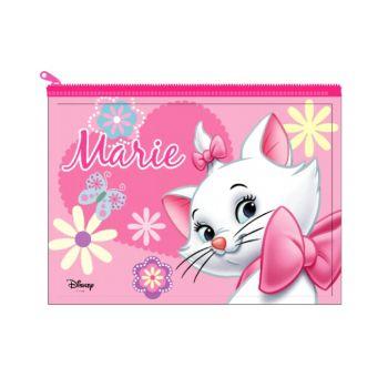 แฟ้มซอง PVC อเนกประสงค์ Marie - สีชมพูเข้ม