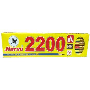 ดินสอดำ HB ตราม้า รุ่น 2200