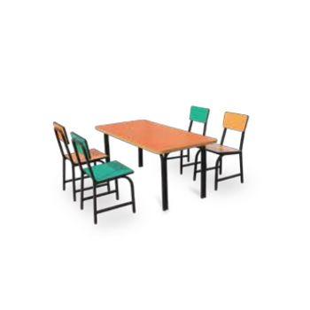 ชุดโต๊ะนักเรียนอนุบาล+เก้าอี้ โตไก SD-08(Desk)(Chair)