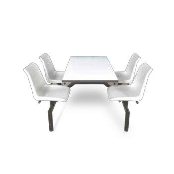 ชุดโต๊ะ Fast Food ขนาด 4 ที่นั่ง โตไก FF-2