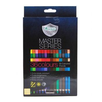 สีไม้ Master Art 2หัว 36สี รุ่น Master Series