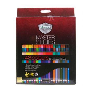 สีไม้ 2หัว Master Art รุ่น Master Series 48สี