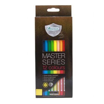 สีไม้ Master Art 12 สี รุ่น Master Series