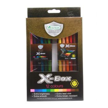 สีไม้ Master Art รุ่น Master Series X Box