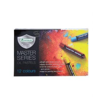 สีชอล์กน้ำมัน Master Art รุ่น Master Series 12 สี